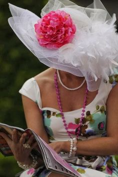 Kentucky Derby Hats and Fashions
