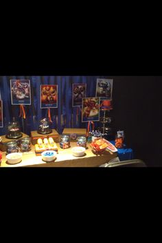 Candy Bar - Skylander Giants birthday party