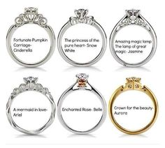 Disney Princess Rings! What?!