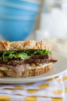 Steak Sandwich Recip