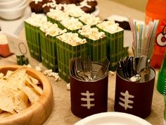 Super Bowl Crafts - Super Bowl Themed Party Ideas - Good Housekeeping