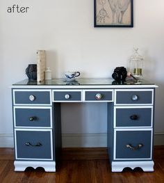 This totally gives me an idea for the desk in Josie's room!