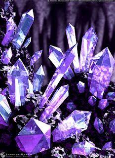 So cool ~ 'Chrystalised Purple'