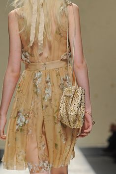 Blugirl Spring 2013: Ethereal and Provocative dress fashion, blugirl spring, spring 2013, 2013 collect
