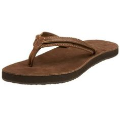 """Reef Women's Swing 2 Thong Sandal Reef. $31.65. Leather footbed with anatomical arch support. Platform measures approximately 0.5"""" . Rubber sole. Heel measures approximately 0.5"""". leather"""