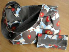 My New Bag & Wallet {patterns included!}