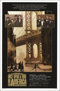 Once Upon a Time in America (1984) - (cast Robert De Niro)