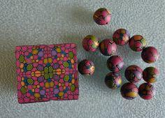 Cobblestone Cane & Beads