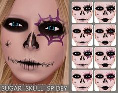 /lightbox/Halloween2011 Sugar Skull Face painting Young Child