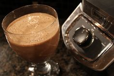 Low-carb frozen mocha protein shake.  Recipe video:  http://youtu.be/9TUw4Ij3lDs