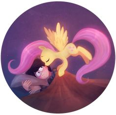 Once-ler and Fluttershy... ... ... ... yes