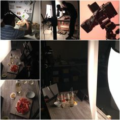 A look behind the scenes from our photoshoot with M&S food.
