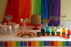 Rainbow Birthday Party Ideas - Meaningful Mama