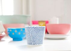 HOME DIY | Dotted cup
