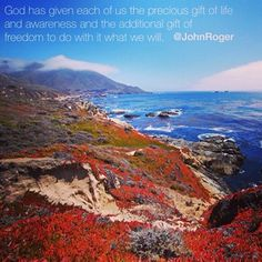 """God has given each of us the precious gift ..."" #lovingeachday #msia"