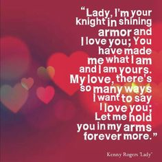 lady valentine lyrics