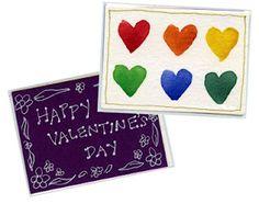 Valentine Art Trading Cards