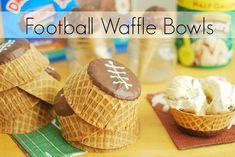 Football Waffle Bowls #GameTimeGoodies #shop #cbias