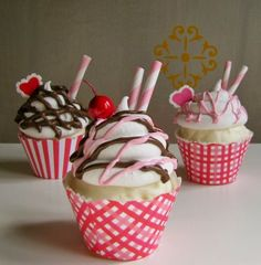 Amazing Cupcakes!! #cupcakes #cupcakeideas #cupcakerecipes #food #yummy #sweet #delicious #cupcake