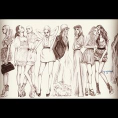 Fashion sketch