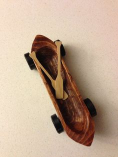 Canoe pinewood derby