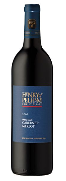 Henry of Pelham - 2009 Cabernet-Merlot Meritage