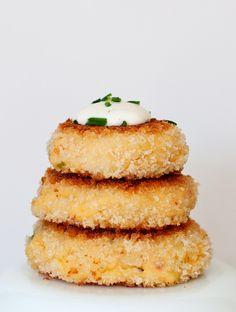 Jalapeno popper potato cakes