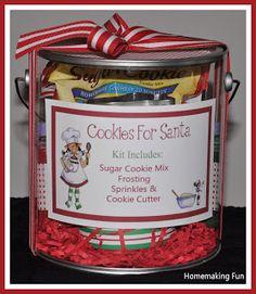 Homemaking Fun: Cookies for Santa Kit ....<3