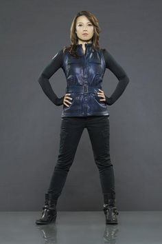Official Agents Of SHIELD Cast Photos: Ming-Na Wen as Agent Melinda May