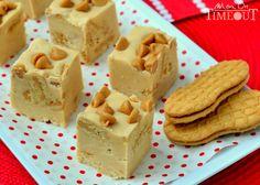 Nutter Butter Peanut Butter Fudge