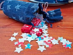 Flameless Party Crackers - Simply Chic Fourth of July Entertaining Ideas on HGTV