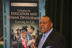 Dr. Daniel Watkins, dean of JSU's College of Education and Human Development, explained the urgency in addressing the educational needs of middle school students across the nation: a significant percentage is deficient in reading and math. He said 1.3 million students drop out of school each year.