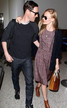 Kate Bosworth  Michael Polish find more women fashion ideas on www.misspool.com