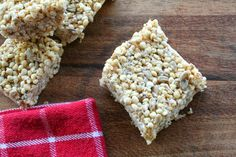 Millet Bars (Dairy, Gluten and Refined Sugar Free)