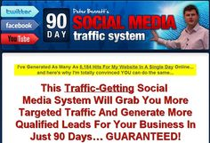 90 Days Social Media Traffic System - COMPLETE COURSE