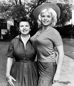 Jayne Mansfield and her mother-...