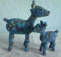 2000 Free Amigurumi Patterns: Deer and Fawn Crochet Pattern