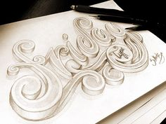 Sketch: Another amazing typography piece by Marcelo Schultz