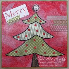 Holiday Canvas Class - MICHELLE'S VIRTUAL STAMP STUDIO