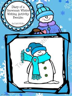 "Diary of a Snowman Winter Writing Activity Freebie from ASeriesof3rdGradeEvents on TeachersNotebook.com -  (12 pages)  - Your kids will have snow much fun writing about their life as a snowman! This is a great activity for your students to practice ""point of view"" in a fun way."
