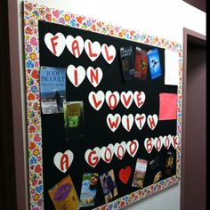 My bulletin board idea for February! You touch on Valentine's Day, while not overdoing it. Perfect way to allow the bulletin board idea to be used all month :)
