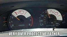 Lol gotta <3 a Protective father