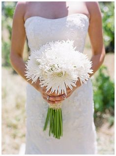 Sasha Souza Events - White wedding bouquet