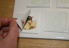 Tutorial on transferring images to polymer clay.