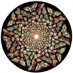 Circle Limit with Butterflies - M.C. Escher, 1950***