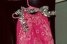 Adorable bandana dress!