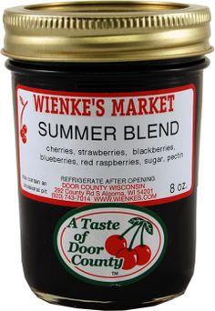Wienke's Market Summer Blend | cheeries, strawberries, blackberries, blueberries, and red raspberries | Renard's Cheese