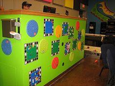 lego wall/desk?