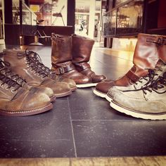 We got some fresh resoled Red Wing Shoes in! #redwing #redwings #redwingshoes #boots #amsterdam #shoes #resole