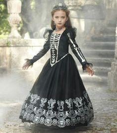skeleton princess costume // chasing fireflies